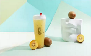 LELECHA乐乐茶:蓝莓小仙女
