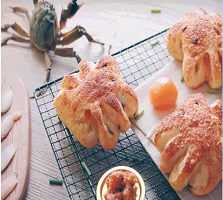 LELECHA乐乐茶:蟹蟹侬包
