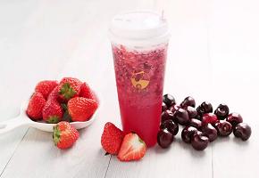 LELECHA乐乐茶:樱桃小莓子